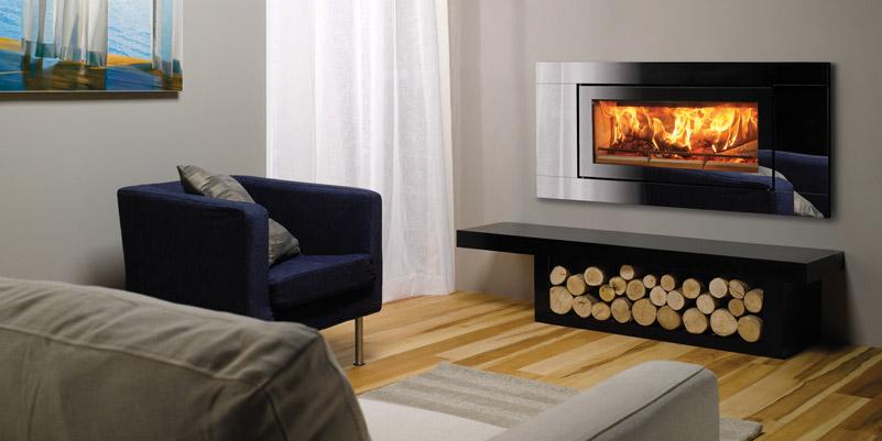 Hole-In-The-wall Fireplace