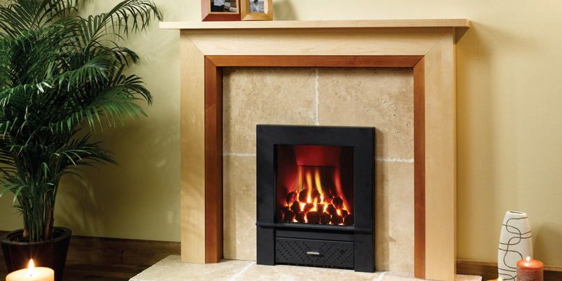 Wooden Fireplace Surround